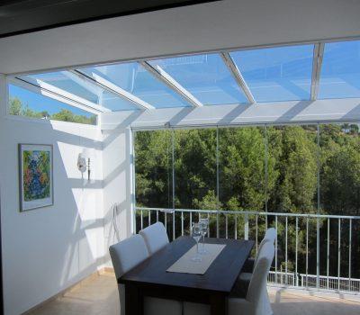 techos vidrio